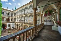 Італійський дворик.