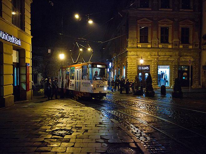 Львовский трамвай. Экскурсия Львов, цена