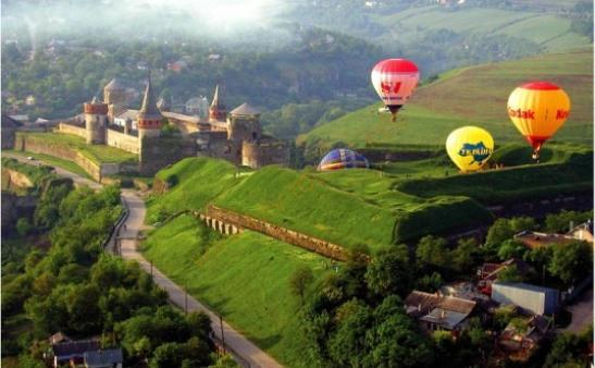 экскурсия в Каменец-Подольский, фестиваль воздушных шаров