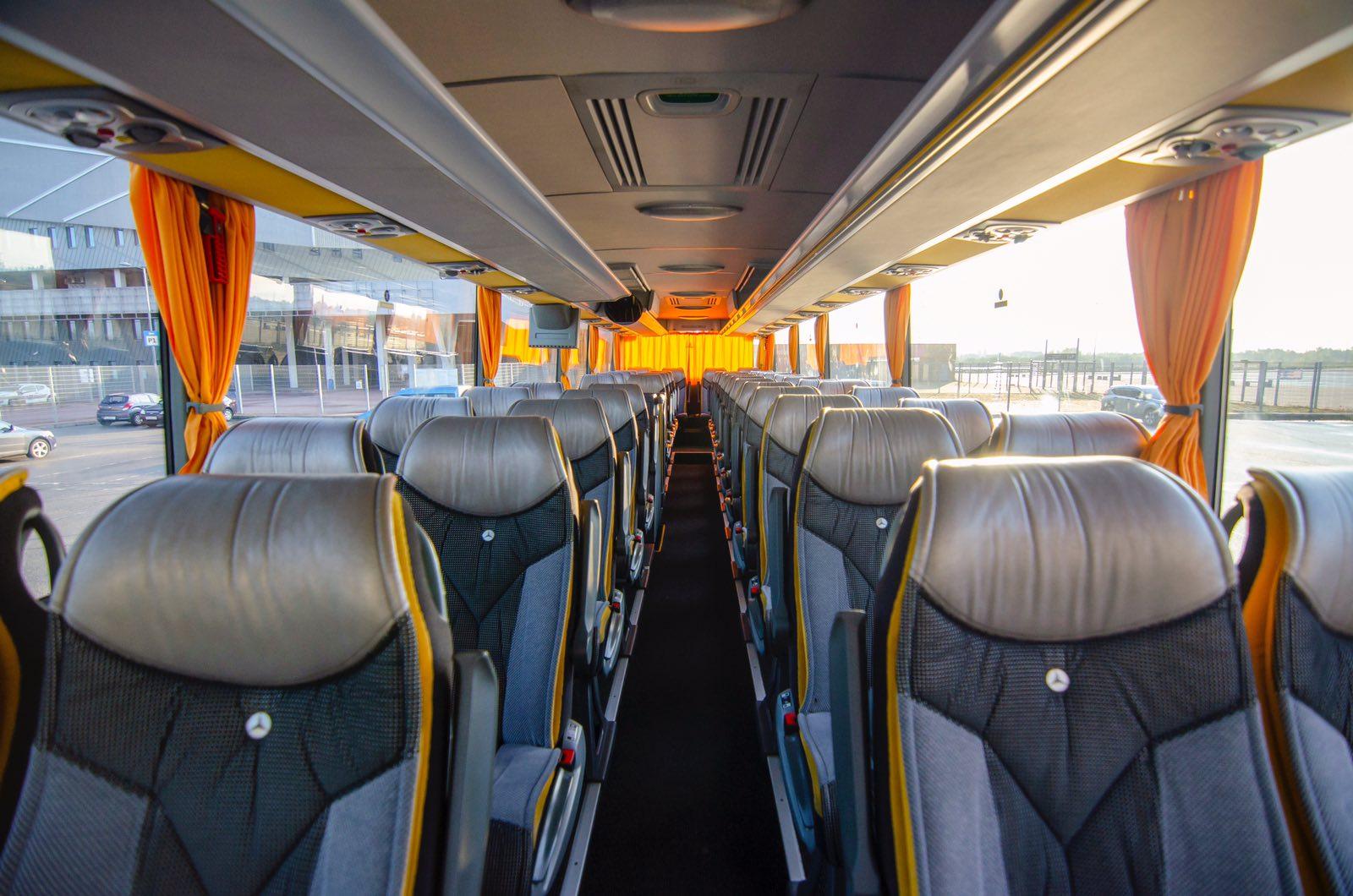 оренда автобуса у Львові, оренда туристичного автобуса, автобус зі Львова за кордон, трансфер Львів, автобус для екскурсій, автобус Mercedes Tourismo