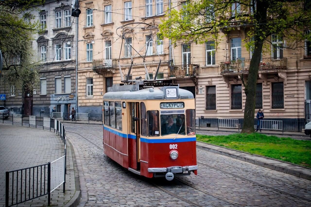 екскурсії Львів, екскурсія на трамвайчику, львівський трамвай